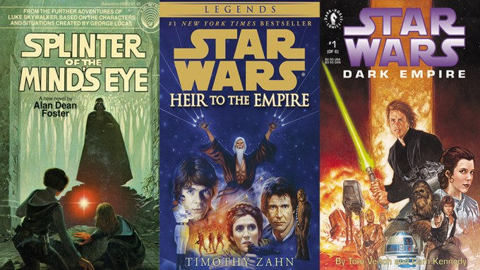 Star Wars Expanded Universe Books