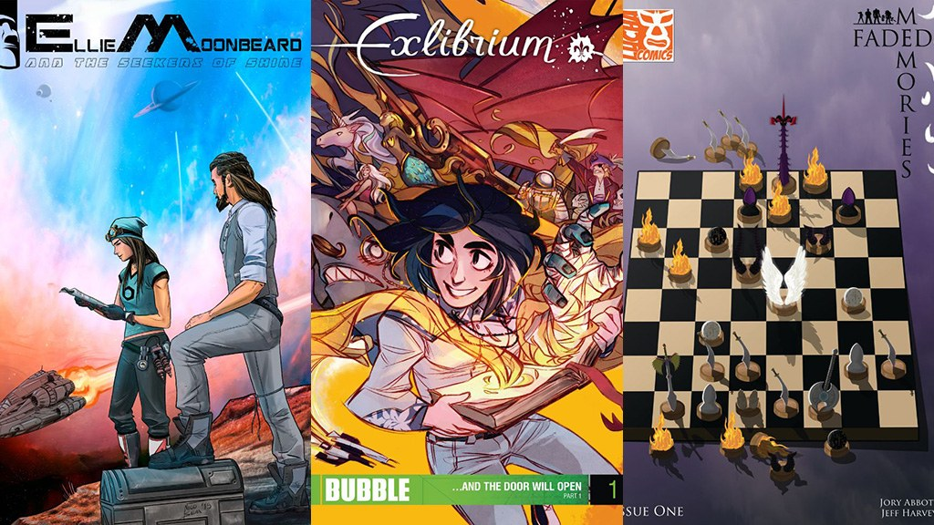 Comixology Submit Review Exlibrium Ellie Moonbeard Faded Memories