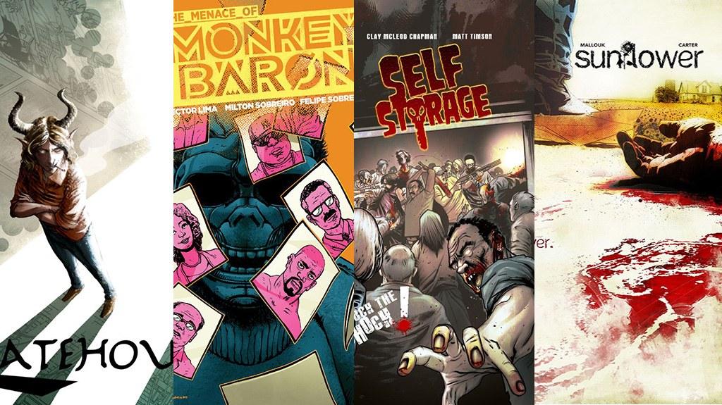 Comixology Submit Review Sunflower Gatehouse Monkey Baron Self Storage