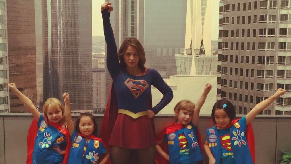 Melissa Benoist Supergirl Kids