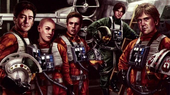 Star Wars Rogue Squadron Pilots