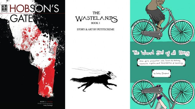 Comixology Submit Hobson's Gate Wastelanders Worst Girl of All Being