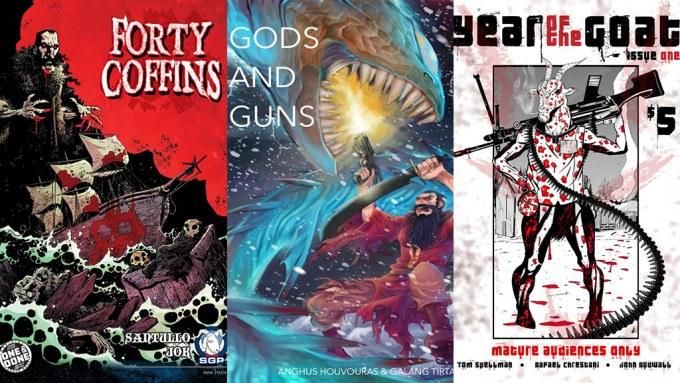 Forty Coffins Guns Gods Year Goat