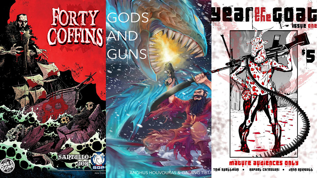 Forty Coffins Guns Gods Year Goat