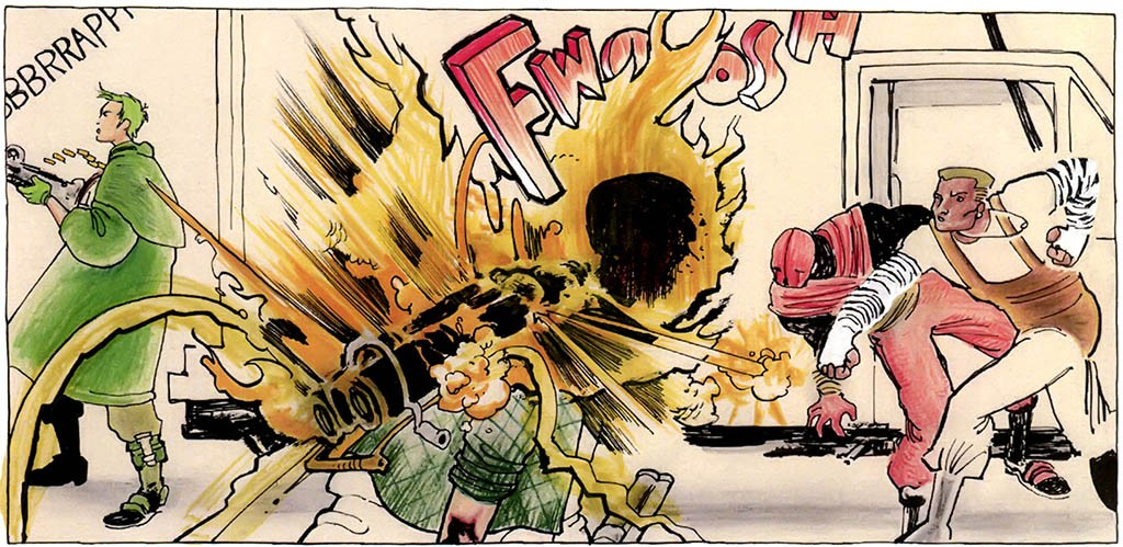 Copra Fight Scene