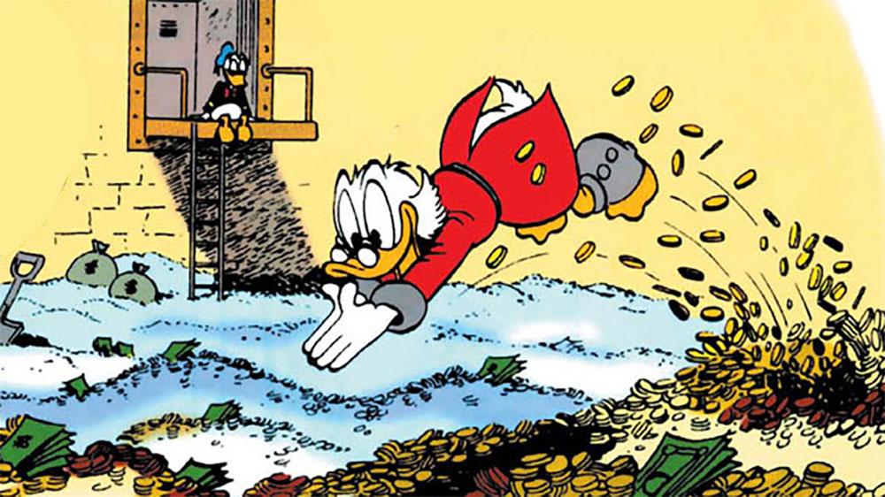 How Rich Is Scrooge Mcduck Everygeek