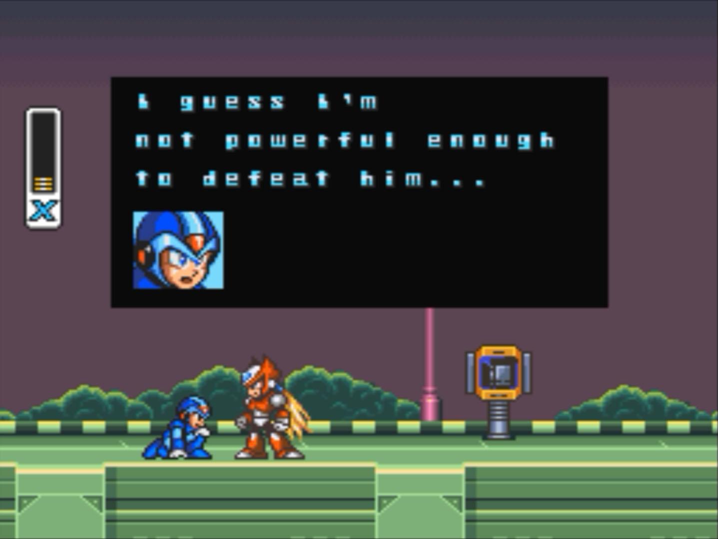 Mega Man X Not Powerful