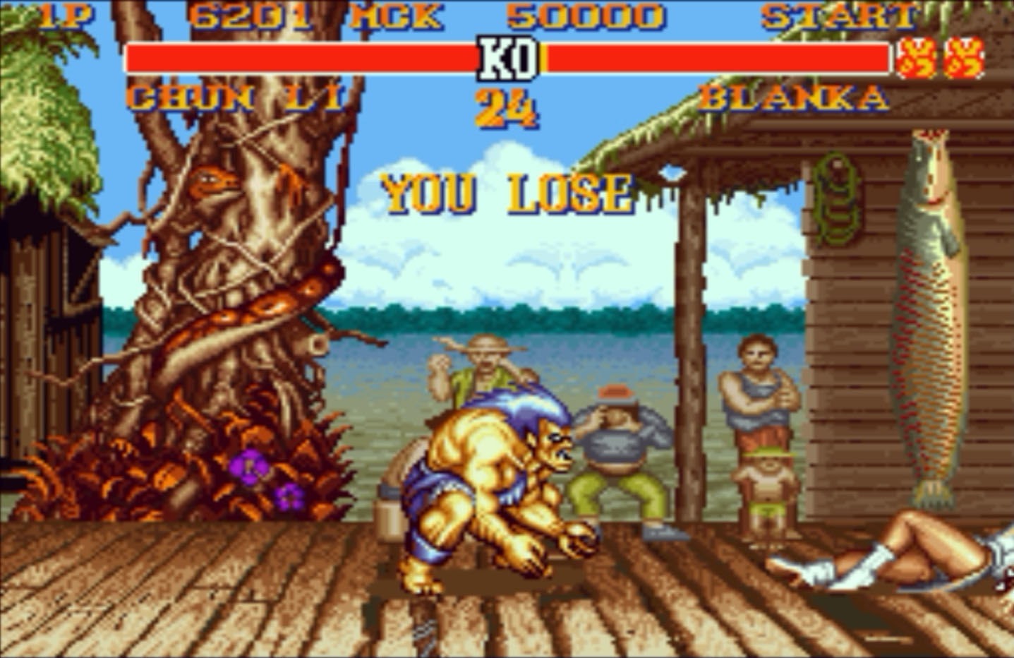 You Lose Street Fighter II #2