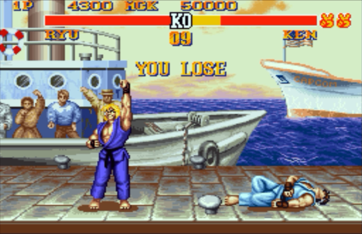 You Lose Street Fighter II #3