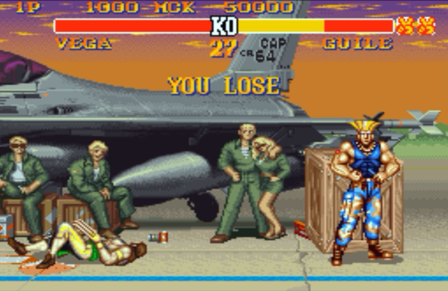 You Lose Street Fighter II #4