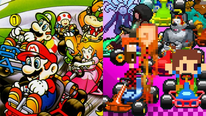 Super Mario Kart Super Indie Karts