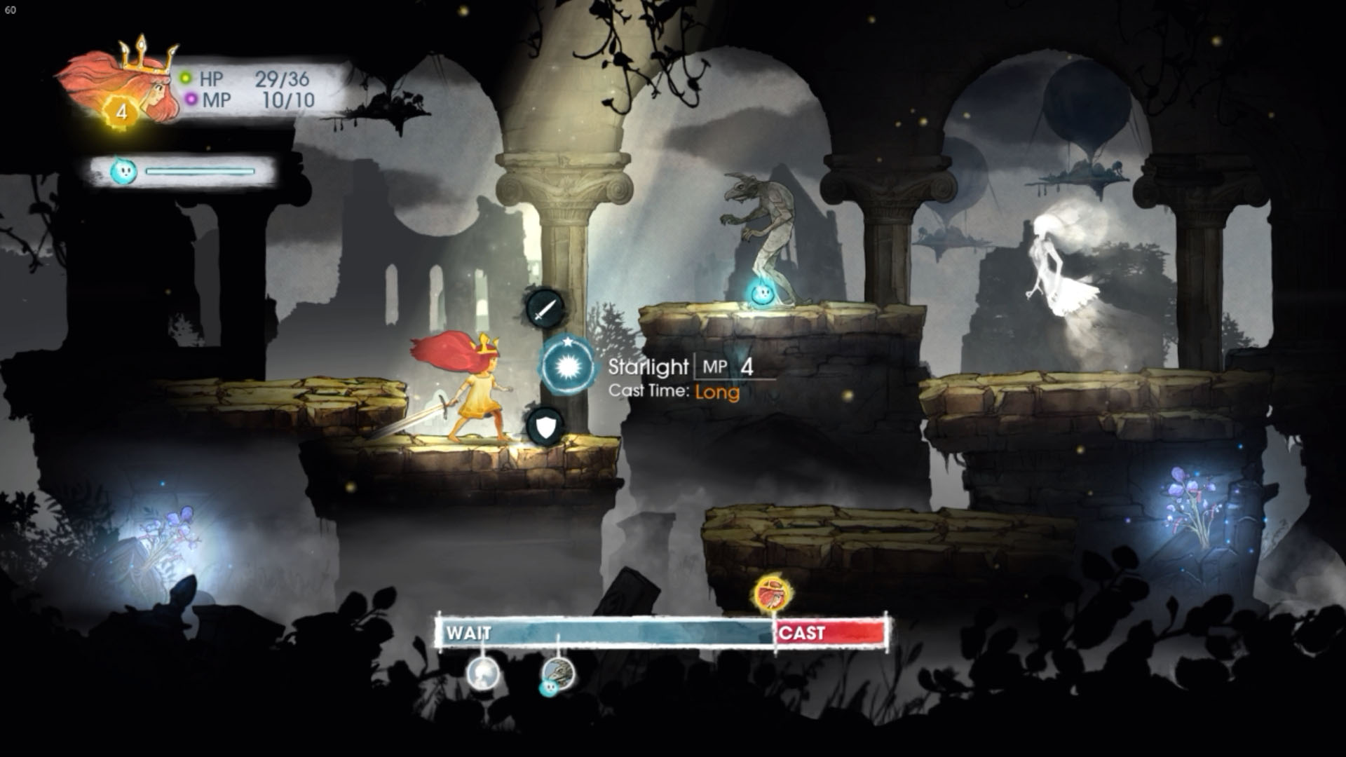Child of Light Battle