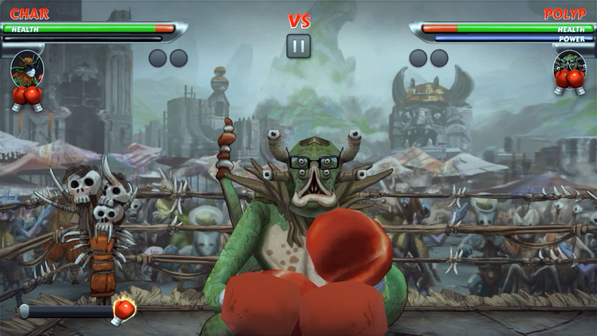 Beast Boxing Match