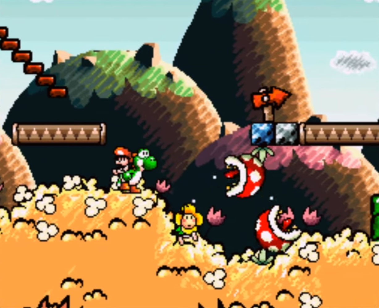 Yoshi's Island First Level