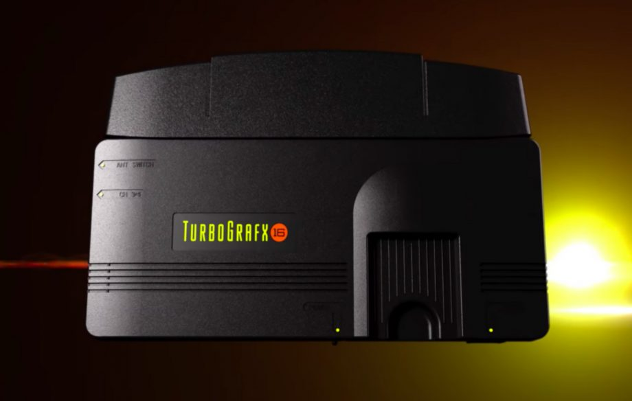 The TurboGrafx-16 mini